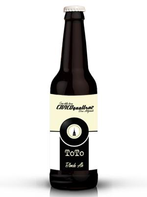 Toto bottiglia birra 330 ml Blonde Ale